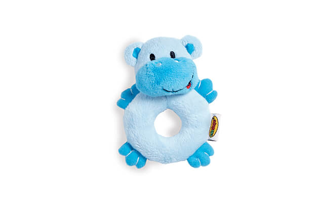 Soft Pal - Hippo Rattle